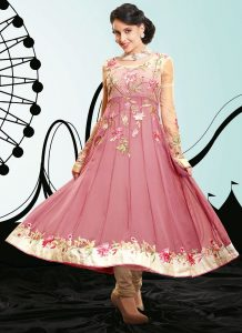 Georgette Anarkali Suits Pictures