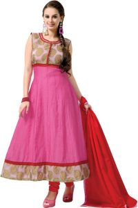 Pictures of Cotton Anarkali Dress