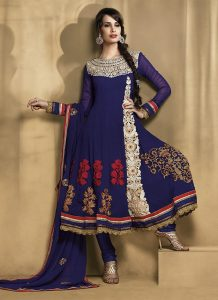 Pictures of Georgette Anarkali Suits